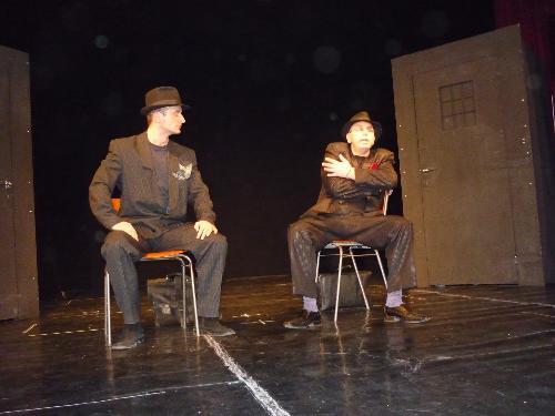 """""""Actorii"""" orădeni pe scenă"""
