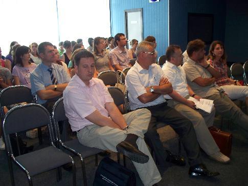 Primul workshop, desfăşurat luni la Oradea