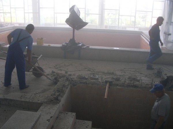 Bazinul exterior a fost reabilitate, cele interioare sunt în curs de modernizare, informează managerul Spitalului  de Recuperare, dr. Ramona Suciu