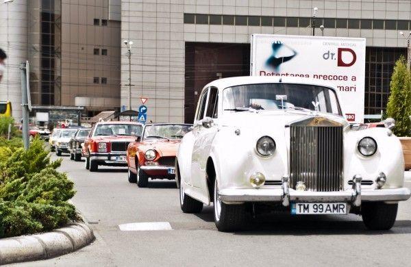 Parada masinilor de epoca prin Timisoara