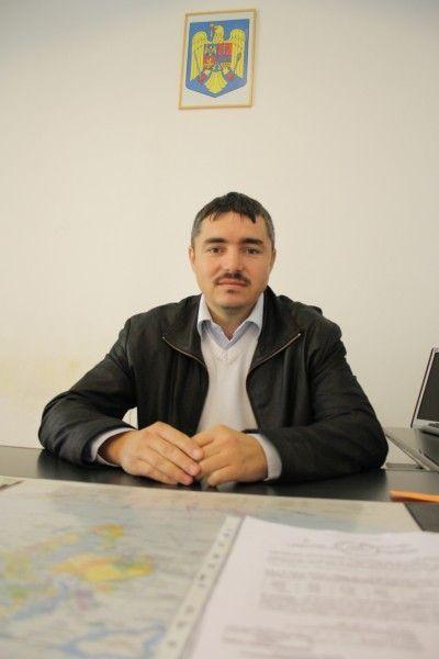 Ovidiu Stefanescu, primarul comunei Comlosu Mare