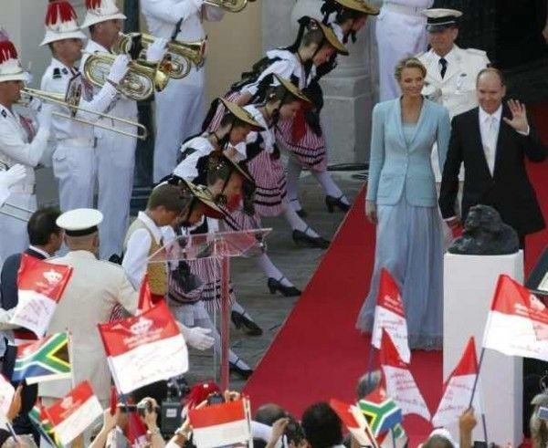 Charlene Wittstock si Albert de Monaco