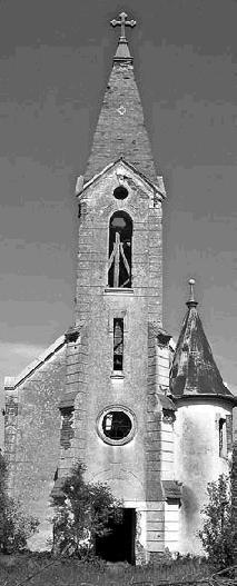 Biserica catolica de la Babsa e parasita