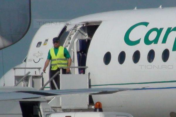 O aeronava Carpatair s-a intors pe Aeroportul Timisoara din cauza unei defectiuni tehnice