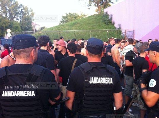 Alerta maxima pentru Gruparea Mobila de Jandarmi din Timisoara