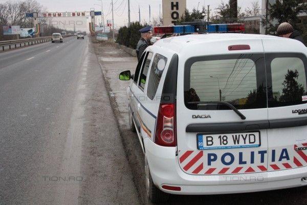 Politistii au prins un minor beat si fara permis, care a furat o masina