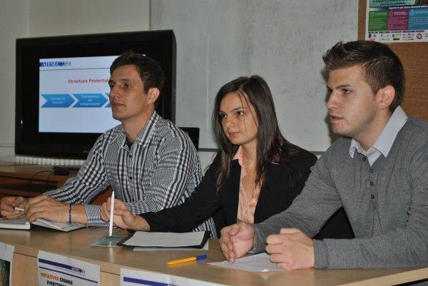 Reprezentanţii AIESEC Oradea