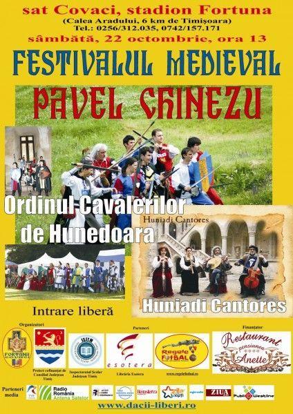 Festivalul medieval Paul Chinezu la Covaci