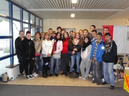 Proiect International Comenius in Germania