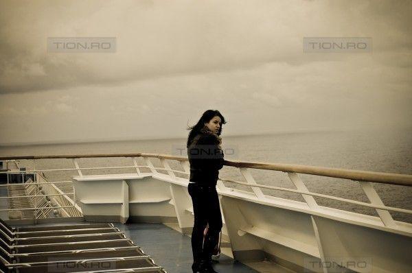 Sora lui Razvan Ivanescu la bordul Costa Concordia