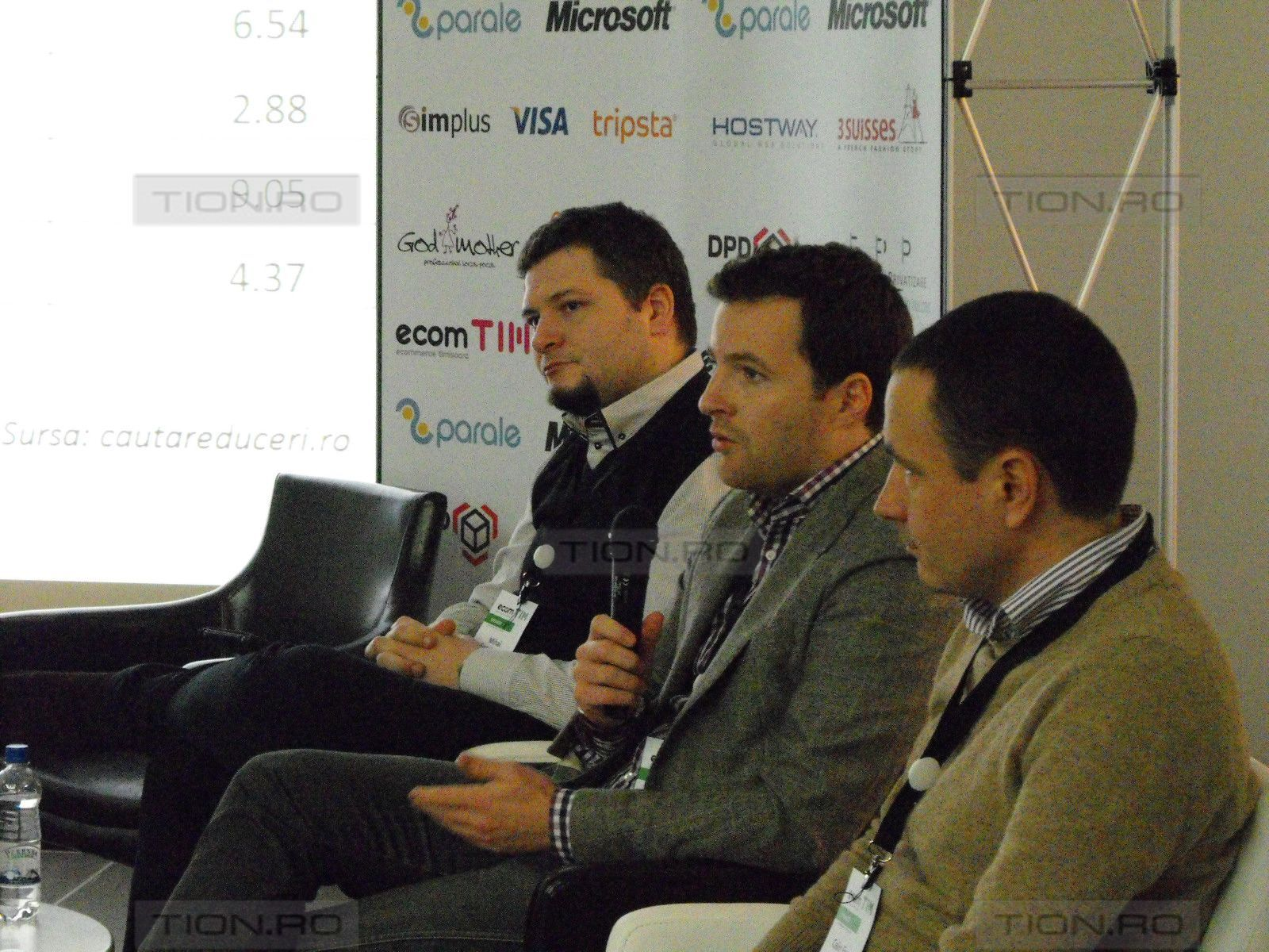 Specialisti din domeniul comertului online si detinatori de business-uri din lumea virtuala se intalnesc la EcomTIM