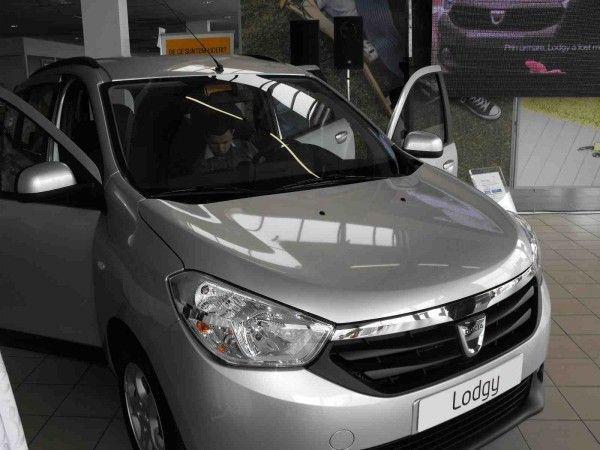 Noua Dacia Lodgy a fost lansata oficial la Timisoara