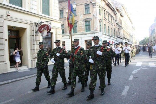 Parada militara de Ziua Timisoarei