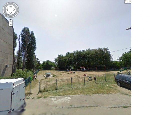 Locul de joaca din Parcul Fluturilor Arad