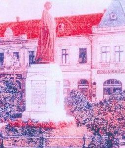 Statuia interbelică a suveranei