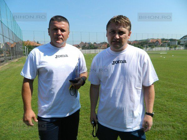 Antrenorii Gheorghe Ghiţ şi Călin Cheregi