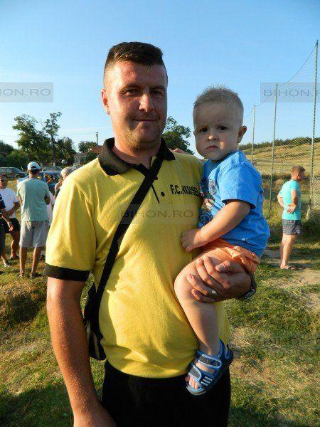 Adi Iova şi fiul Denis