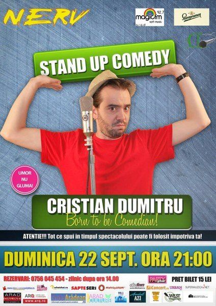afis stand up comedy