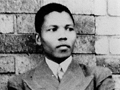 Nelson Mandela în 1937