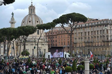 ITALY-VATICAN-RELIGION-POPE-CANONISATION