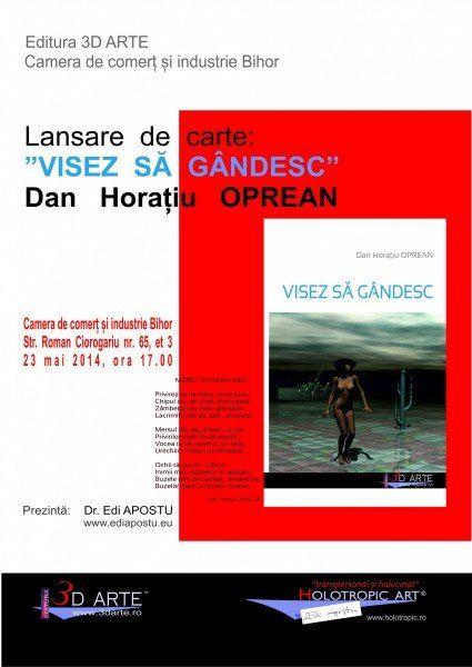 afis Lansare Dan - Oradea - A3
