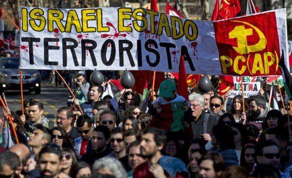 19 iulie, Santiago - Chilienii condamnă acțiunile din Gaza