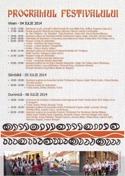 Programul Festivalului