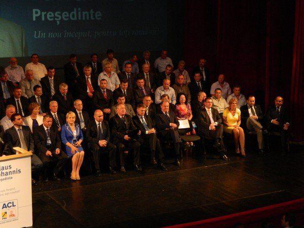 Liderii ACL Bihor - primari si parlamentari