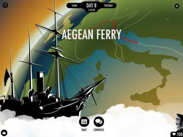 80 Days - Călătorie în jurul lumii pe iOS și Android pentru 4,99 dolari.