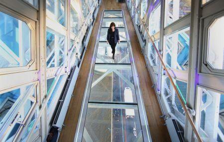 New Glass Flooring Across Tower Bridge's High-Level Walkways