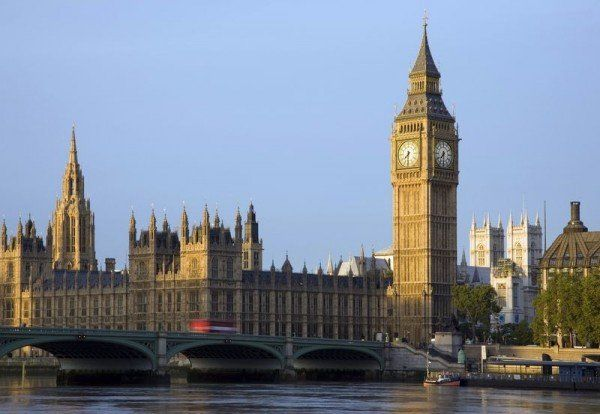 Big Ben, Westminsterbridge mit Themse, London, Südengland, Grossbritannien