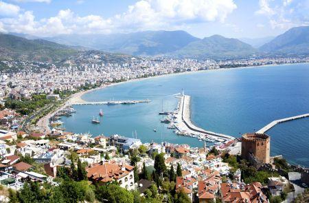 Antalya-coastline-Turkey