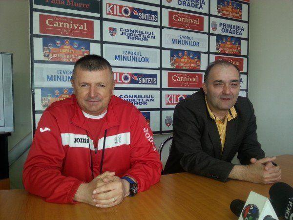 Gheorghe Silaghi şi Mircea Fodor