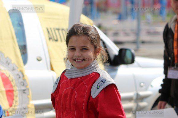 Are doar 11 ani, dar participă la concursuri cu mașini - FOTO: Carmen Ile