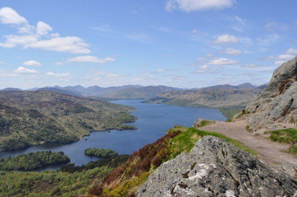 View of Loch Katrine from Ben A'an_1