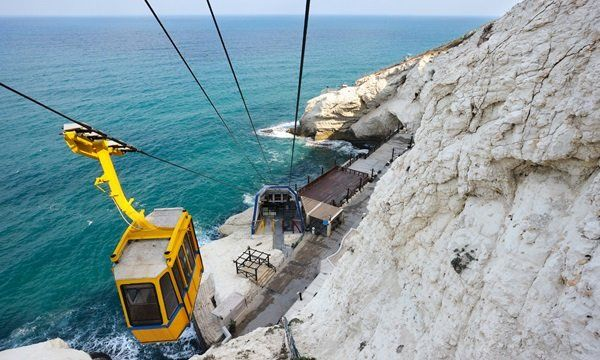 Cableway at Rosh ha-Hanikra