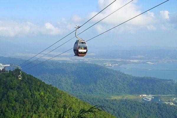 Langkawi hills cable car, Malaysia