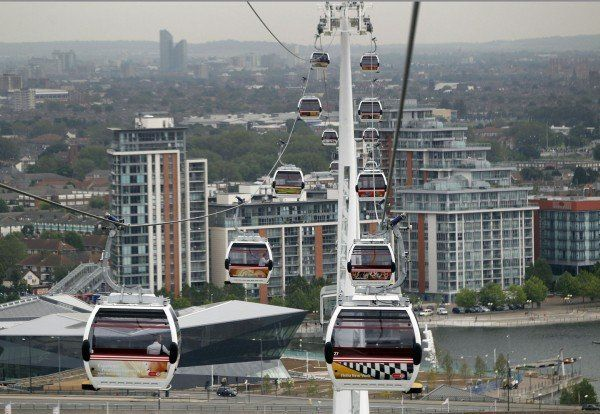 Britain London Cable Car