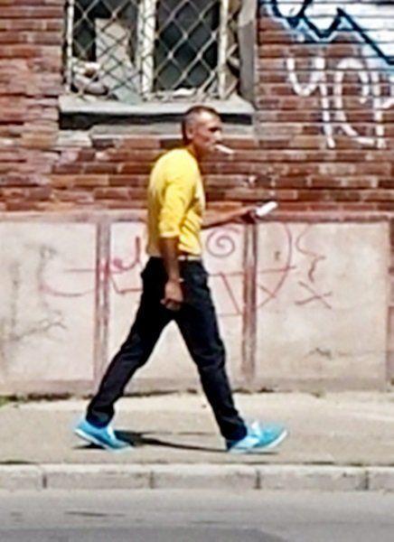 Principalul suspect in cazul bicicletei furate de la Punctele Cardinale, cautat de Politie (3)