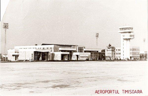 Foto: Aeroportul Timisoara - anii 80