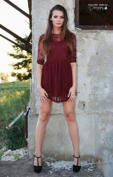 Daniela Vidican -Miss Oradea 2015