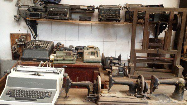 Maşini de scris de acum 40 de ani FOTO: Camelia Buşu