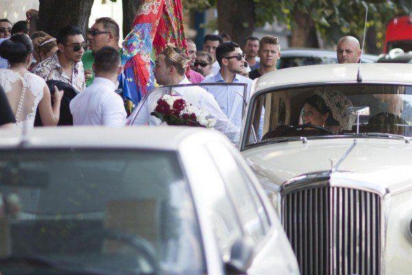 Mai multi tigani participa la o nunta in Timisoara